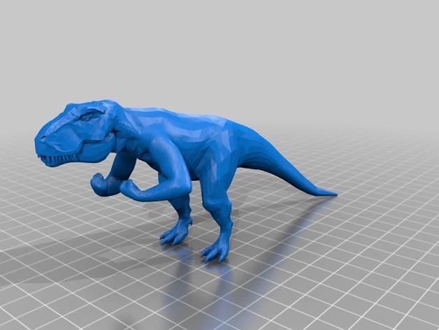 强壮的霸王龙 3D模型  图3