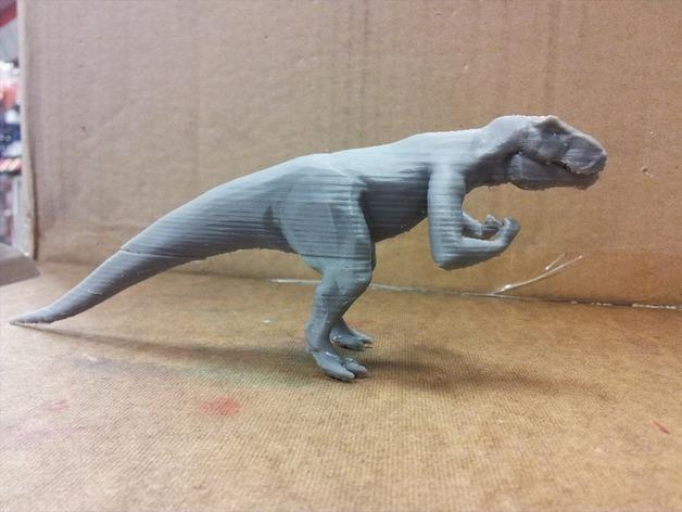 强壮的霸王龙 3D模型  图2