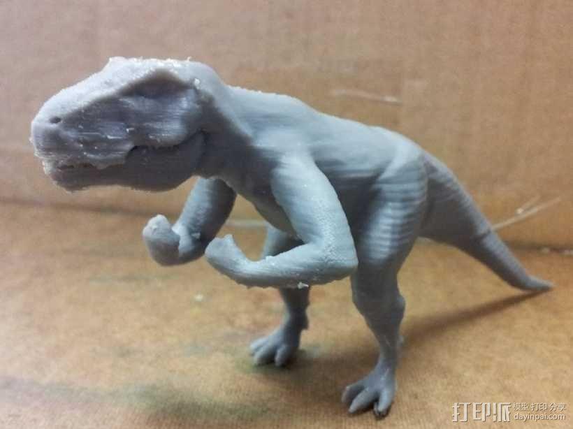 强壮的霸王龙 3D模型  图1