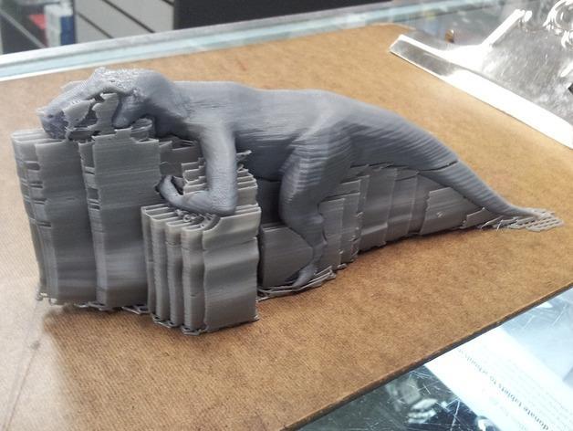 强壮的霸王龙 3D模型  图4