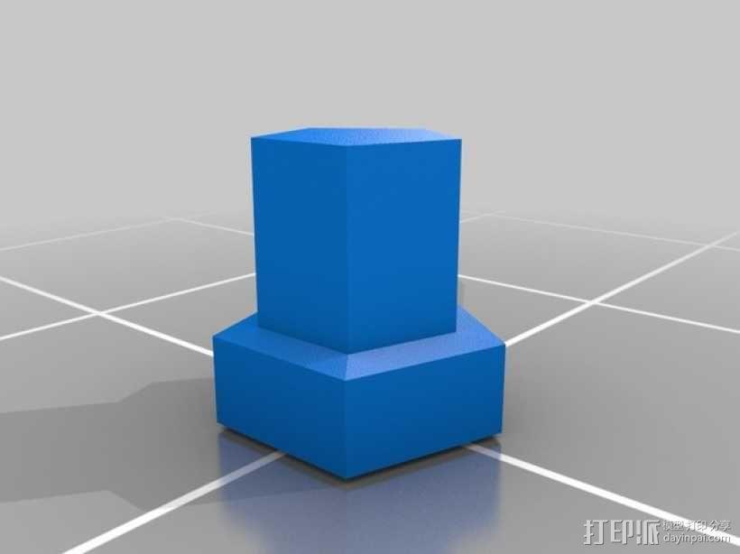 雪人 3D模型  图5