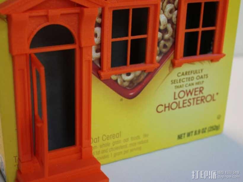 乡间小屋 3D模型  图4