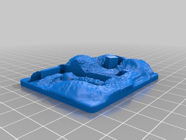 闹鬼的墓地 3D模型  图3