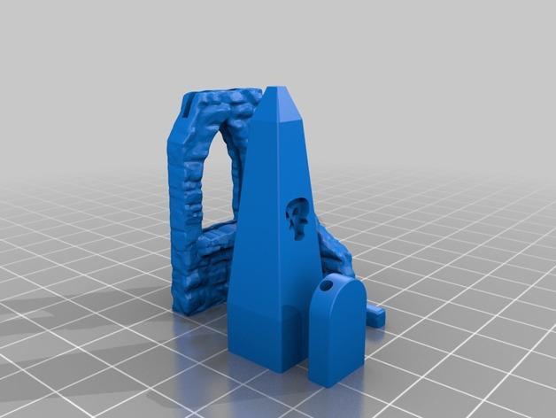 闹鬼的墓地 3D模型  图4