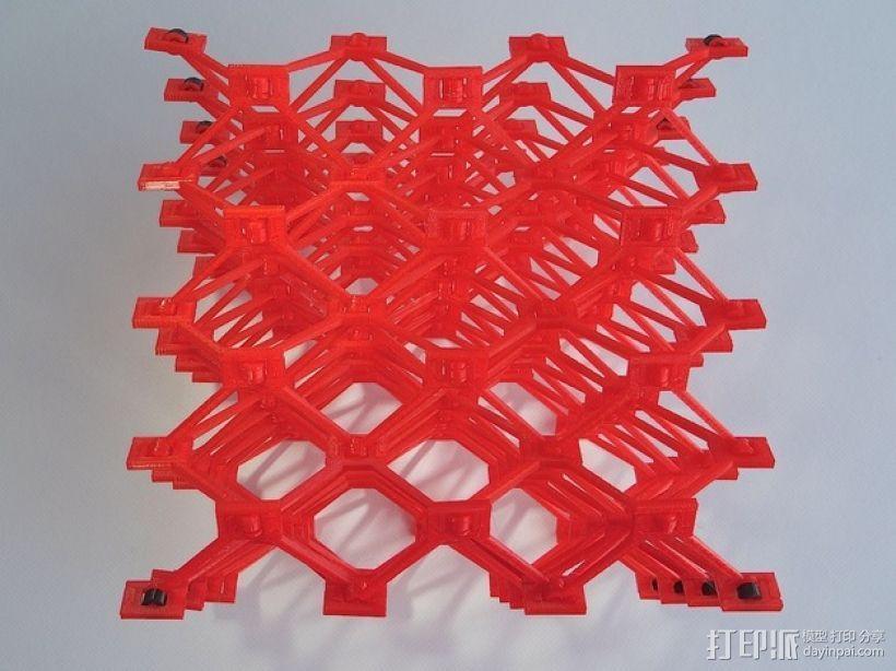 蜂窝结构模型 3D模型  图2