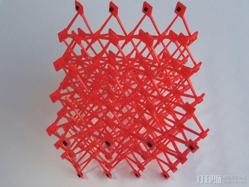 蜂窝结构模型 3D模型  图3