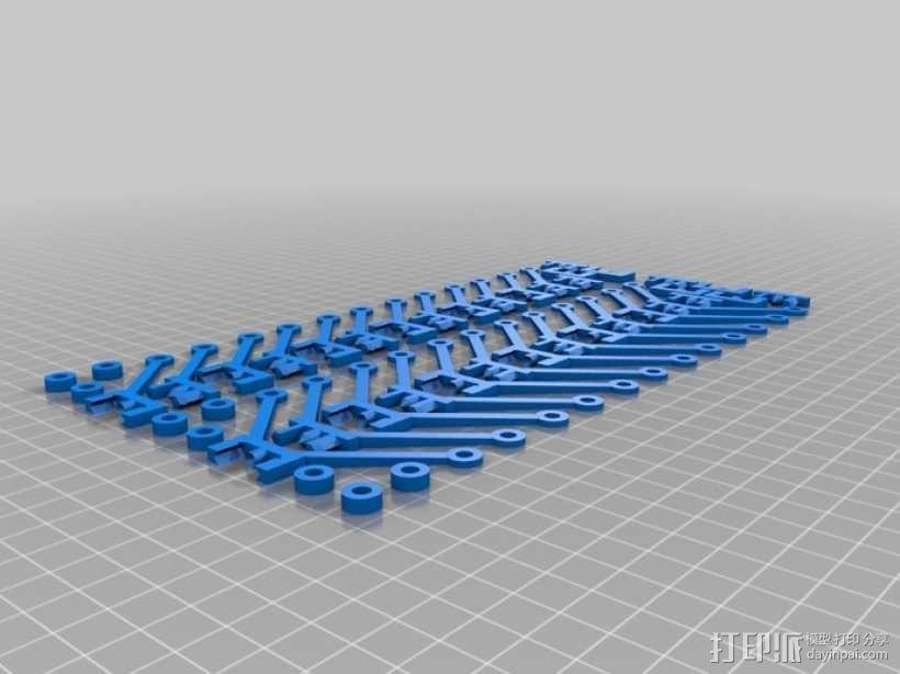 蜂窝结构模型 3D模型  图4