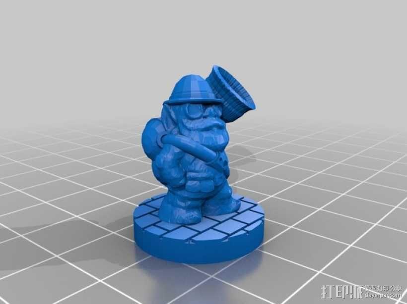Occulum Tanberry人物模型 3D模型  图4