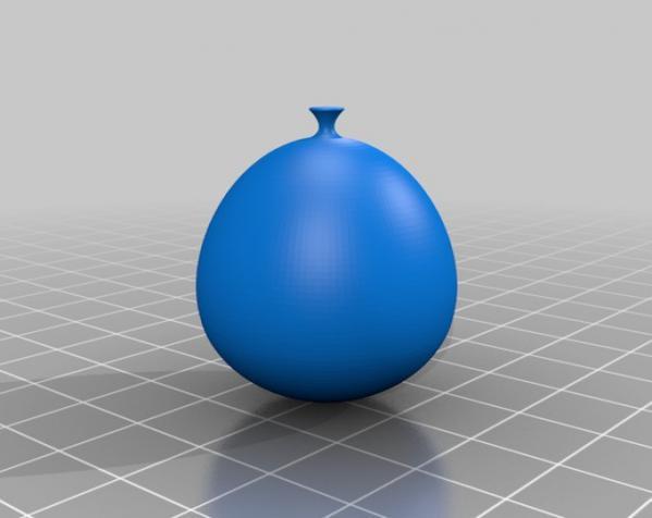 气球 3D模型  图2