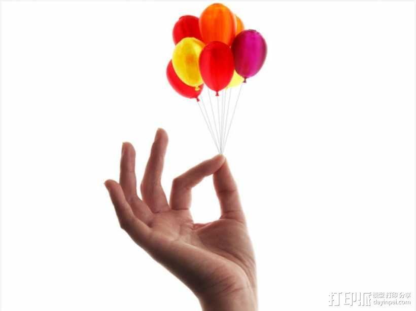 气球 3D模型  图1