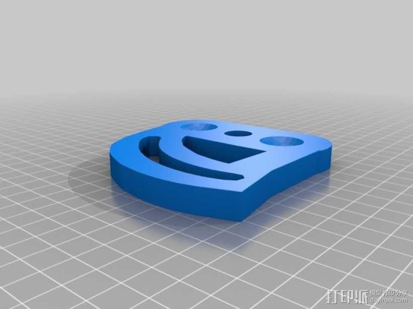 关节可活动的手模型 3D模型  图5