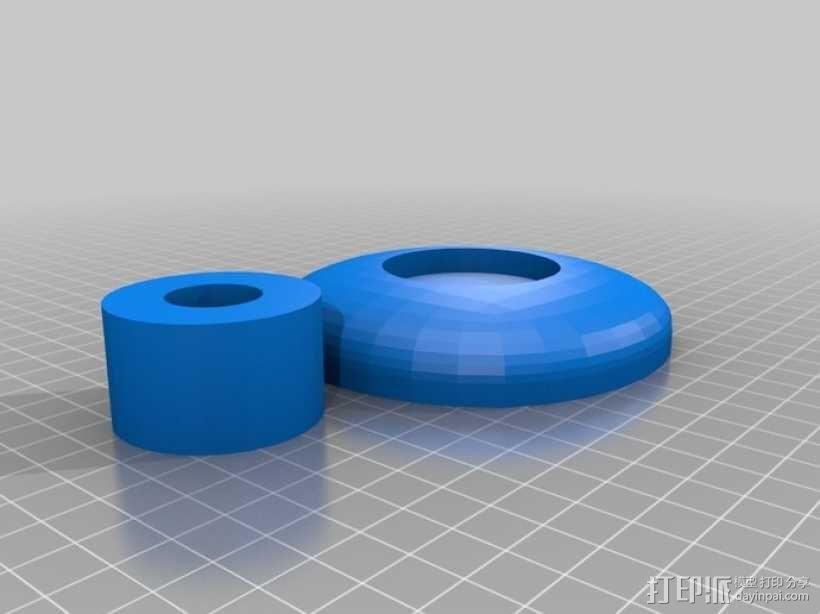 关节可活动的手模型 3D模型  图6