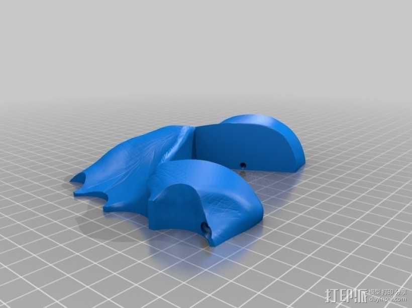 关节可活动的手模型 3D模型  图13