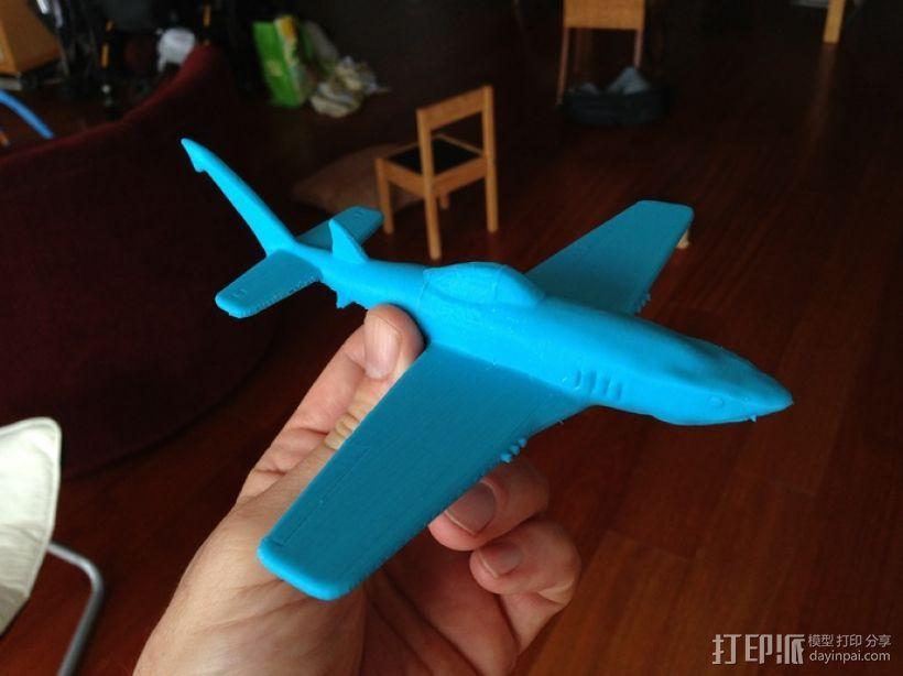 UW-33鲨鱼战斗机 3D模型  图1