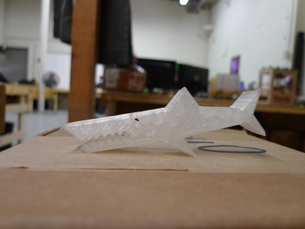 鳄鱼夹 3D模型  图1
