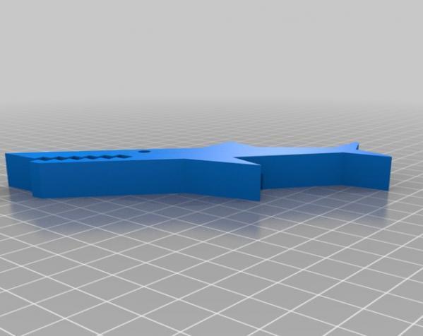 鳄鱼夹 3D模型  图2