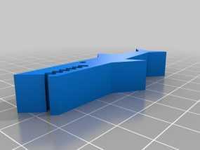 鳄鱼夹 3D模型