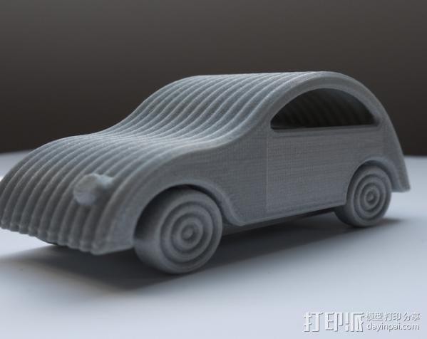 小汽车 3D模型  图1