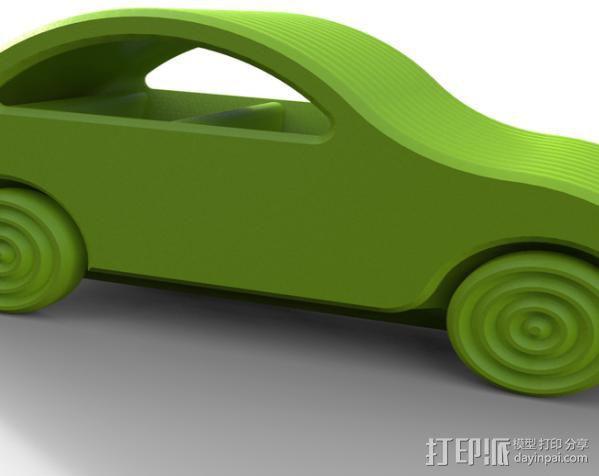 小汽车 3D模型  图4