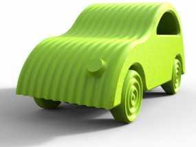 小汽车 3D模型