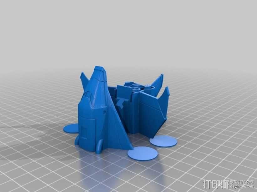 航天飞机运载火箭 3D模型  图2