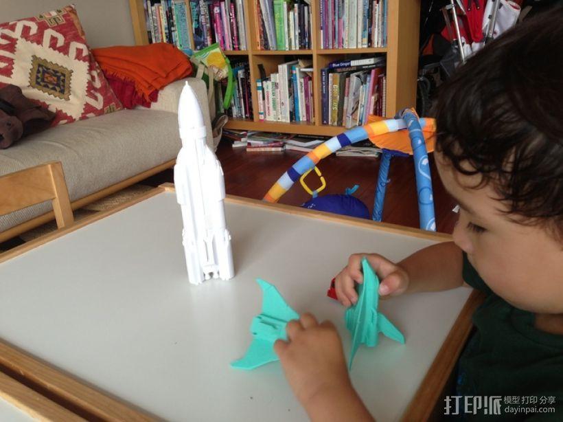 航天飞机运载火箭 3D模型  图8