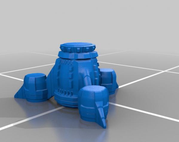 雷鸟 3D模型  图2