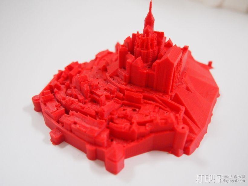 圣米歇尔山 3D模型  图3
