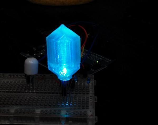 LED灯 灯罩 3D模型  图3