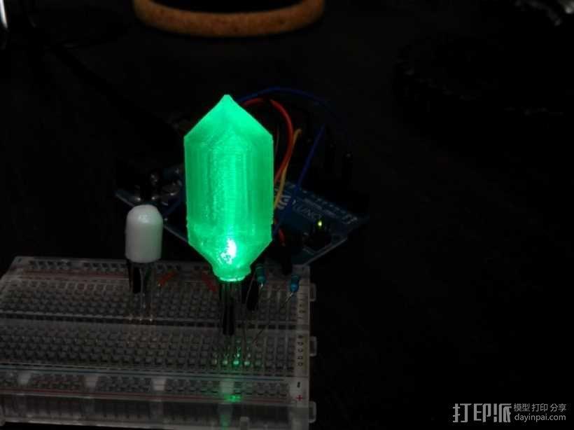 LED灯 灯罩 3D模型  图1
