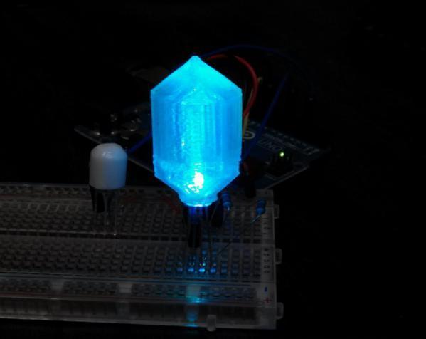 LED灯 灯罩 3D模型  图4