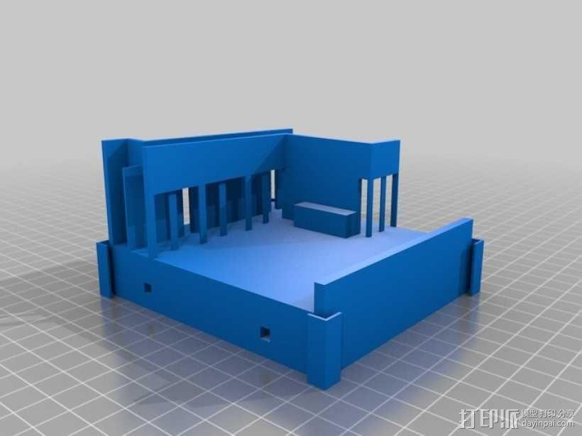 澳洲联储大厦模型 3D模型  图4