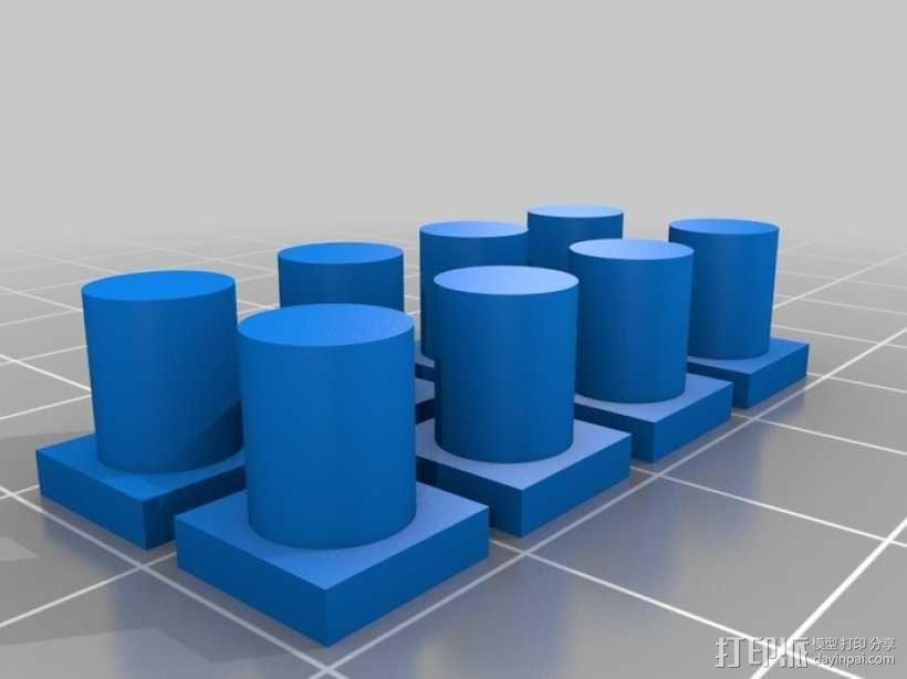 齿轮咖啡杯套 3D模型  图6