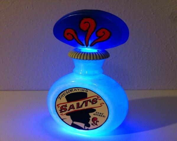 小玻璃瓶 盐瓶 3D模型  图1