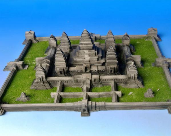 吴哥窟 3D模型  图2