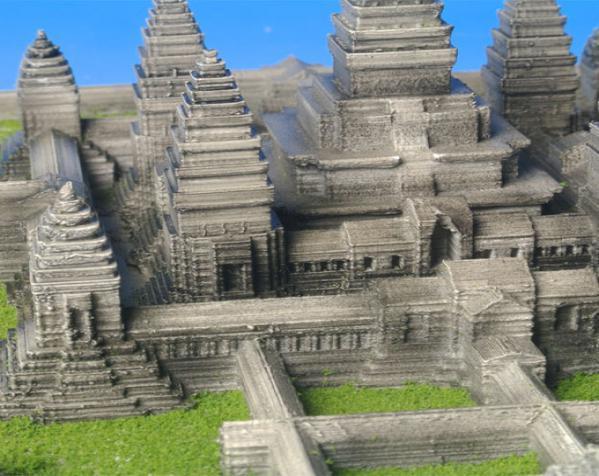 吴哥窟 3D模型  图3