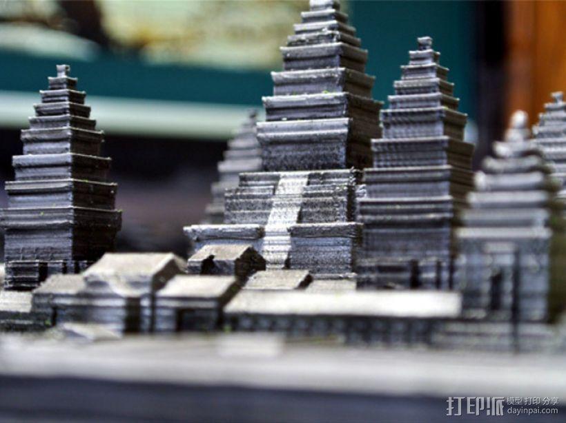 吴哥窟 3D模型  图8