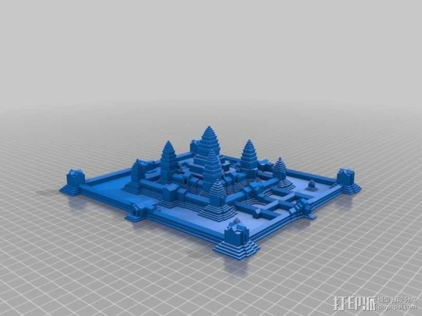 吴哥窟 3D模型  图10