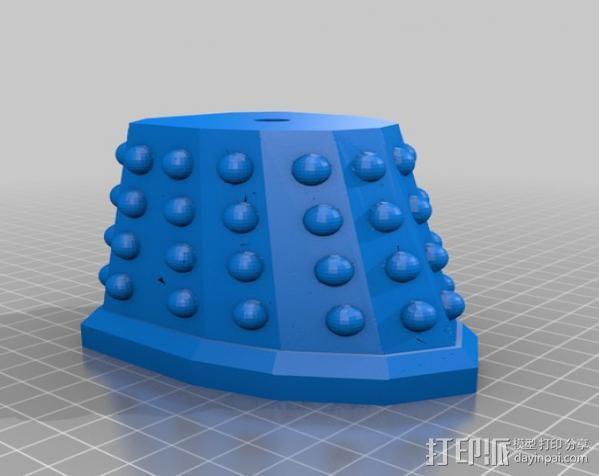 达雷克星人 3D模型  图2