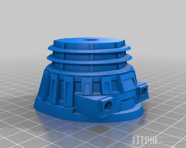 达雷克星人 3D模型  图4