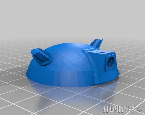 达雷克星人 3D模型  图6