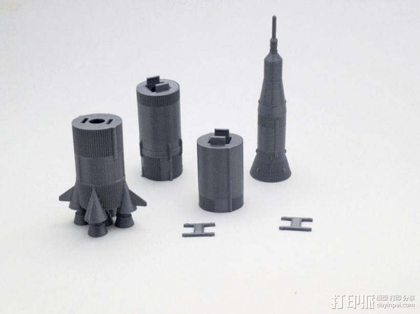 土星5号运载火箭 模型 3D模型  图6