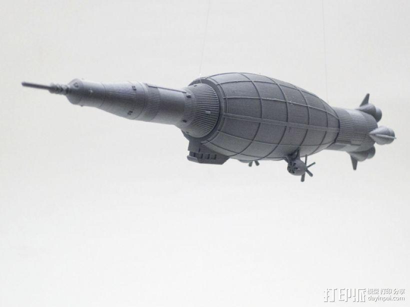 土星5号运载火箭 模型 3D模型  图8