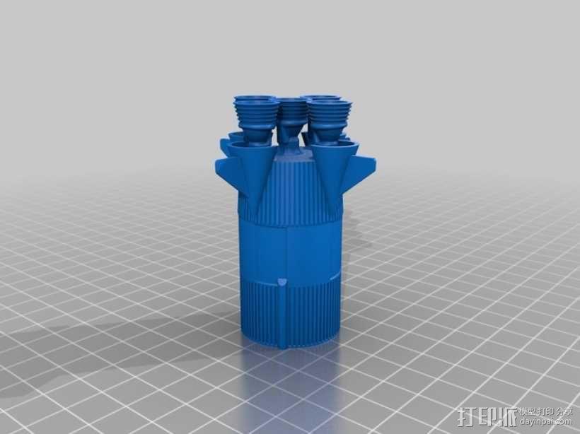 土星5号运载火箭 模型 3D模型  图14