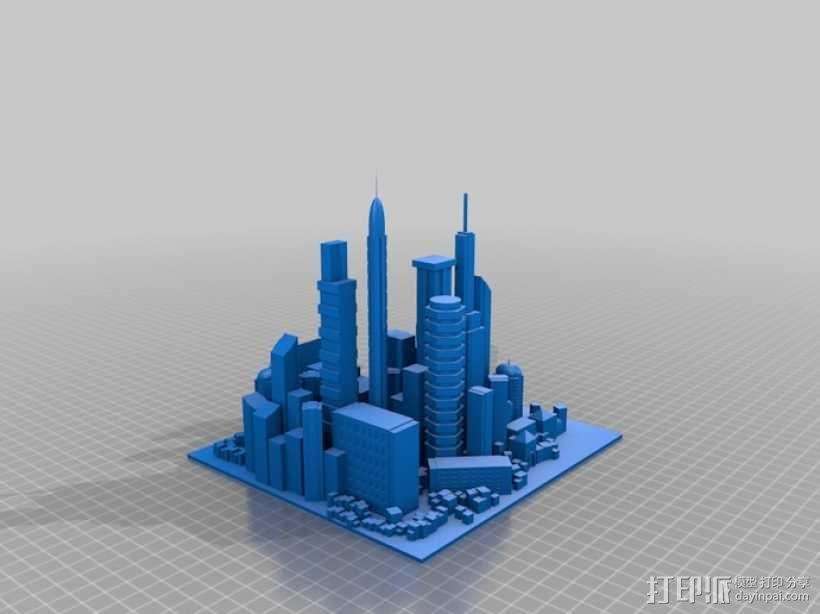 大都市 3D模型  图2