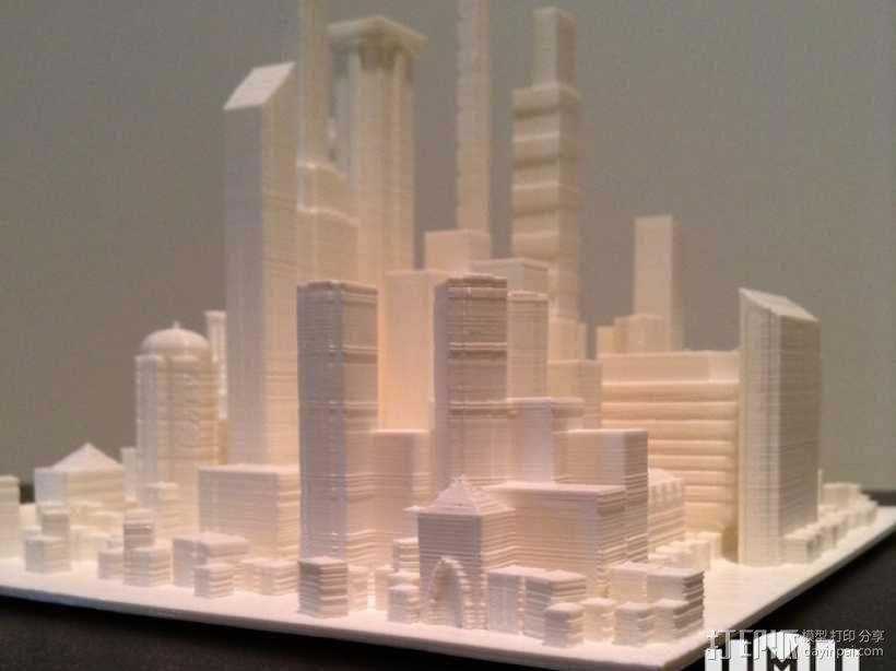 大都市 3D模型  图4