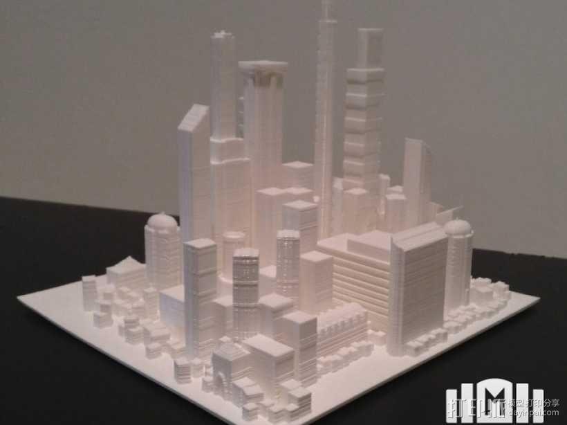 大都市 3D模型  图3