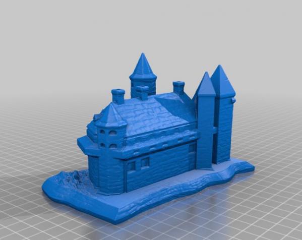 国王的城堡 3D模型  图3
