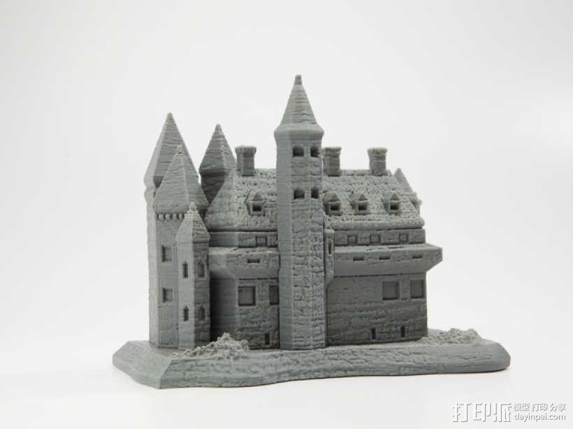 国王的城堡 3D模型  图1