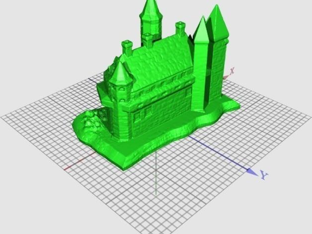 国王的城堡 3D模型  图2